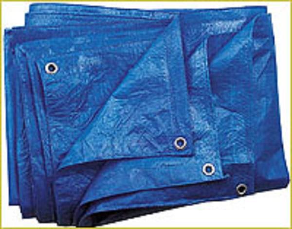 Abdeckplane 60g/m² blau verschiedene Abmessungen