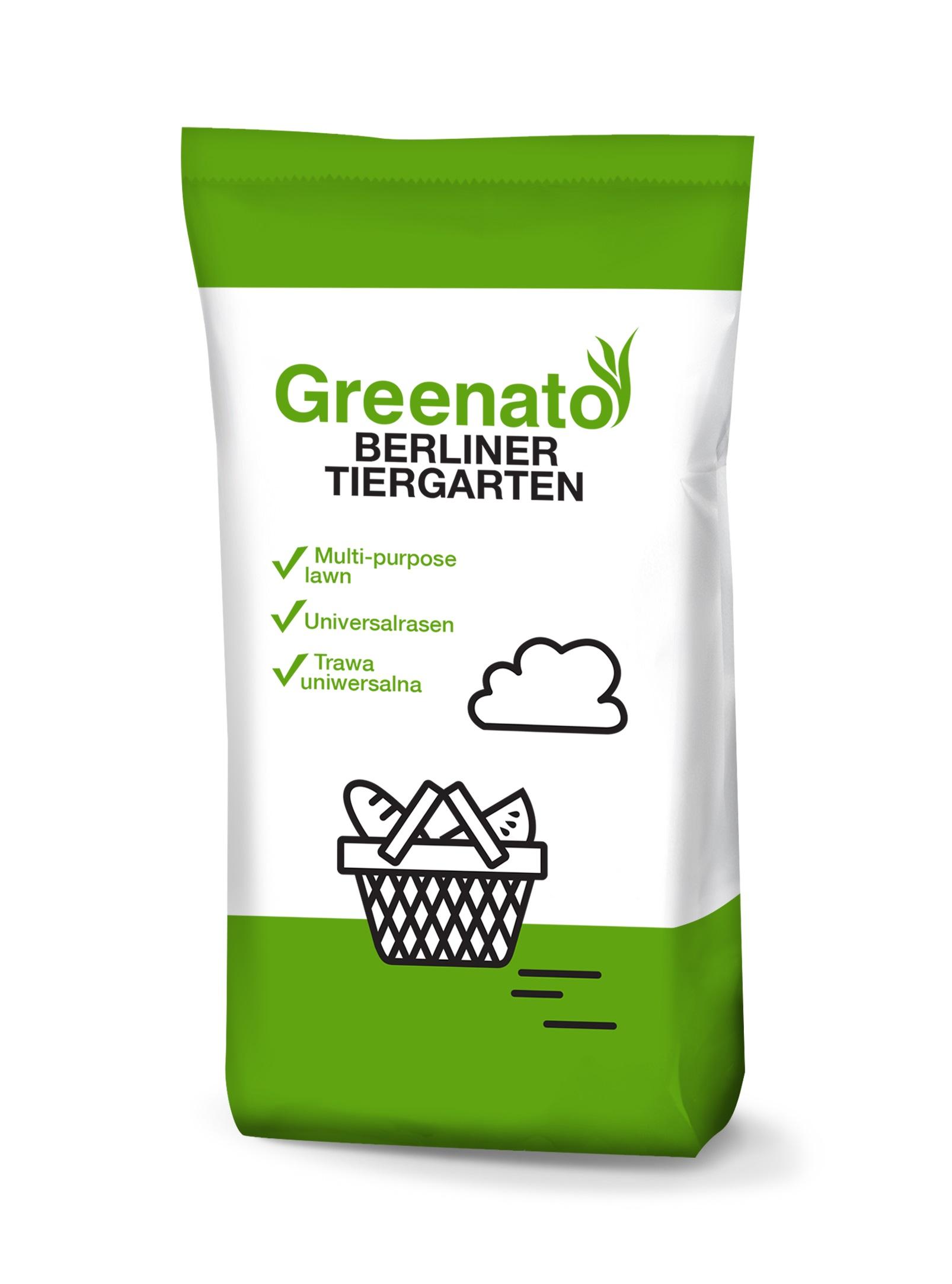 Rasensamen Greenato Berliner Tiergarten 1kg - 30kg