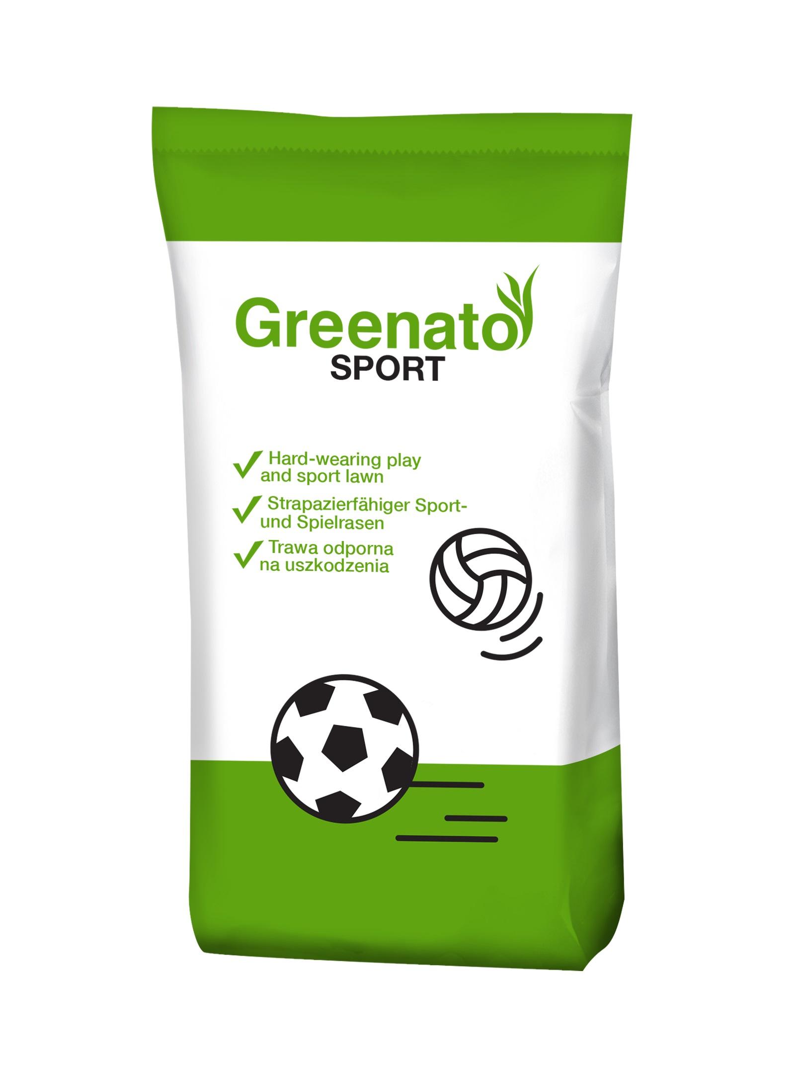 Rasensamen Greenato Sport 1kg - 30kg