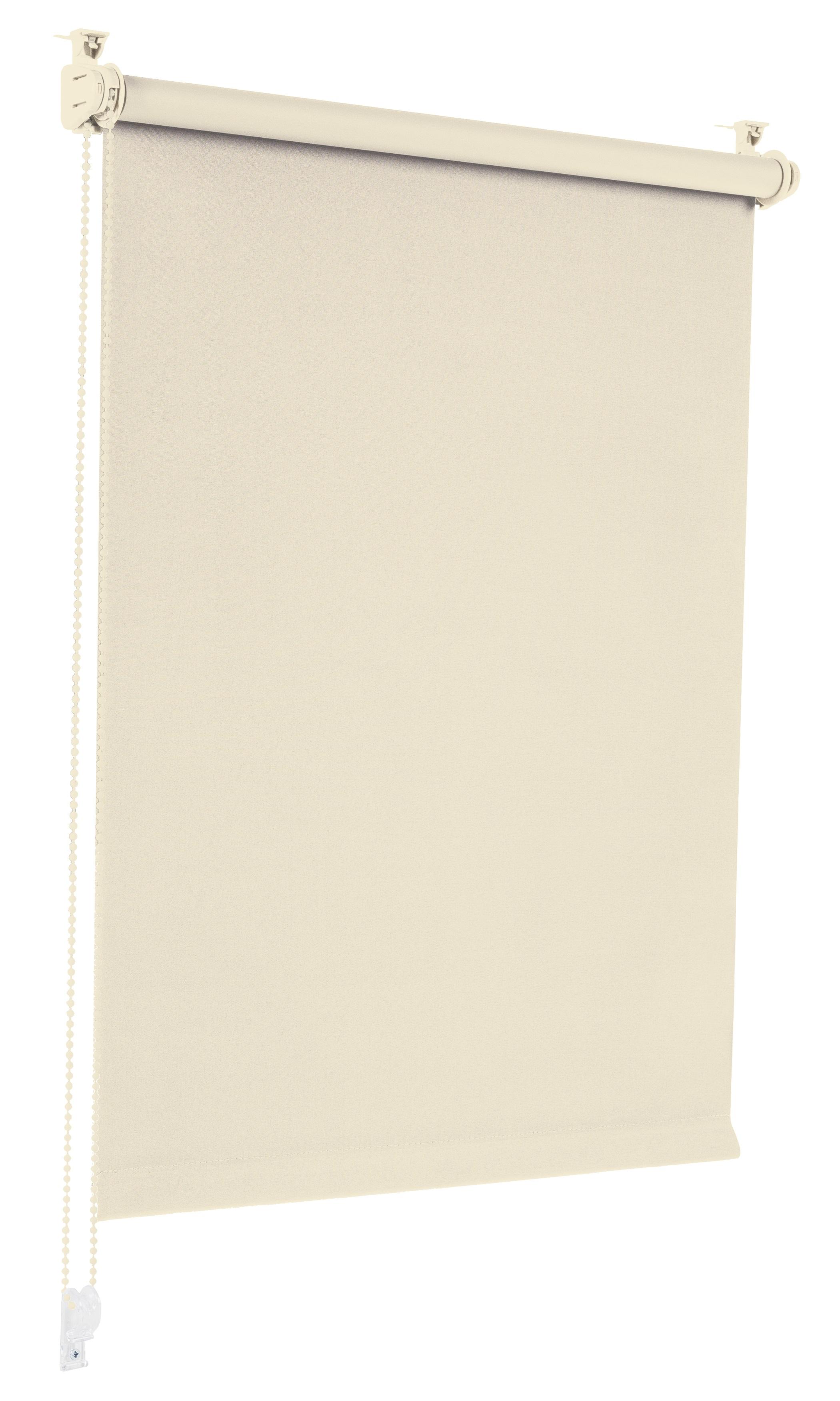 Sonello Verdunkelungsrollo Klemmfix ohne Bohren creme