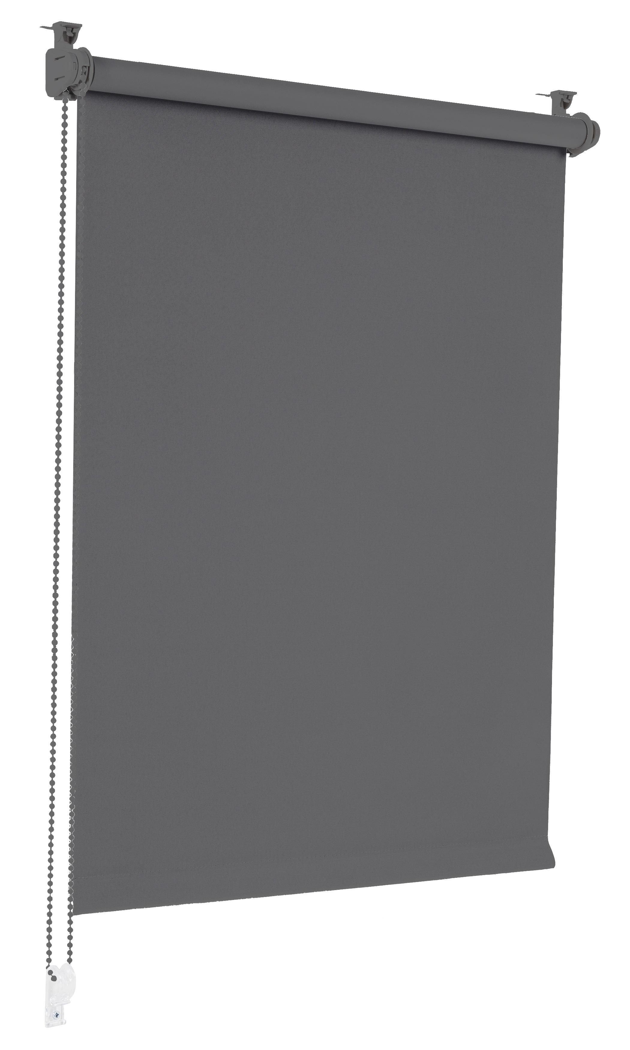Sonello Verdunkelungsrollo Klemmfix ohne Bohren grau